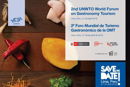 save the date peru gastronomy forum